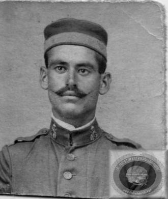 Gregorio Ibáñez, Infante de Marina que sirvió en África en los años 20 [Fuente:http://www.fotosdelamili.com/DW3_INFA_MARINA-1920.html ]
