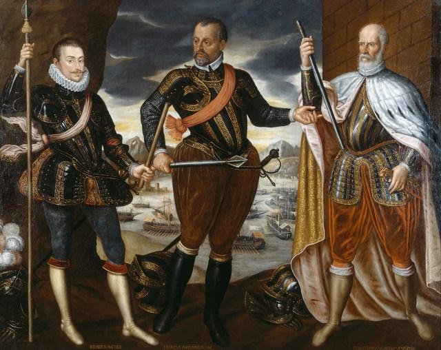 Los victoriosos de Lepanto (anónimo 1575)