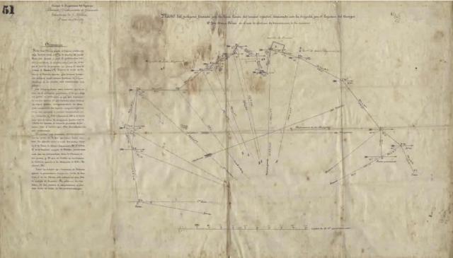 Plano limítrofe de Melilla, realizado a cañonazos con 'El Caminante'