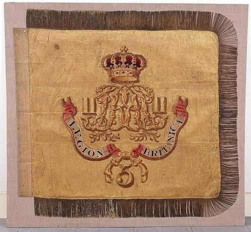 Guión del 5º Regimiento, Legión Británica