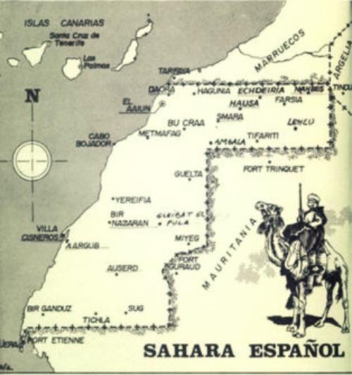 La cuestión del Sáhara Español