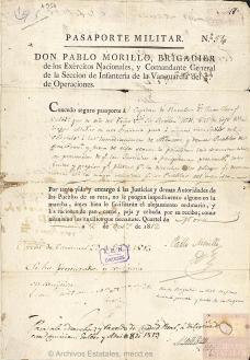 Documentos de la colección de Autógrafos custodiada en la Sección de Diversos del AHN