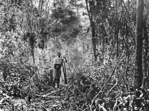 Fawcett en la frontera entre Bolivia y Brasil en 1908
