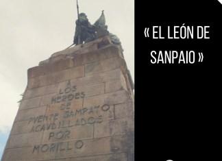 PAblo MOrillo y Morillo , el león de Sampaio