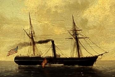 Apresamiento del vapor Virginius por la corbeta Tornado 1