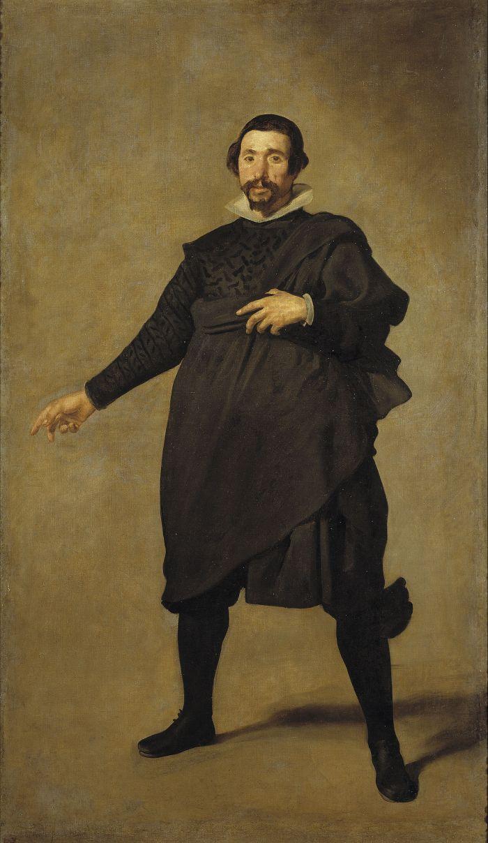 """""""Pablo de Valladolid"""" (c1632-1637) Diego Velázquez. Museo del Prado"""