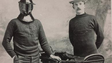 Photo of El hombre que quería dar la vuelta al mundo con una máscara de hierro