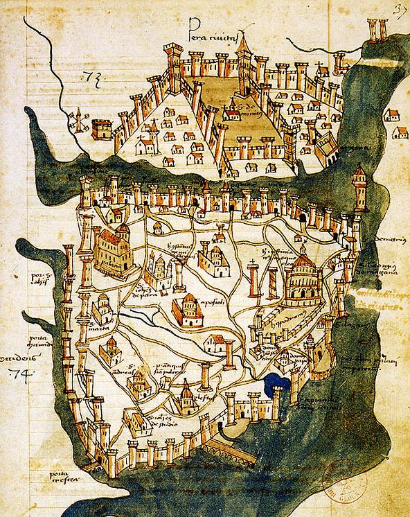 constantinopla mapa