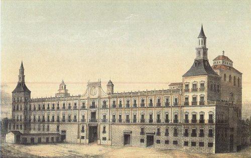 el alcázar de Madrid