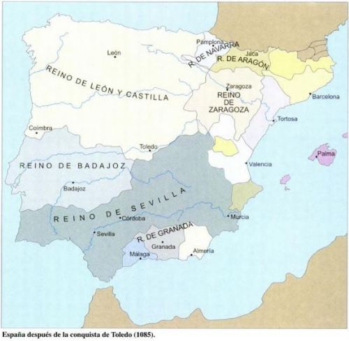 Atlas histórico de España, Volumen 1