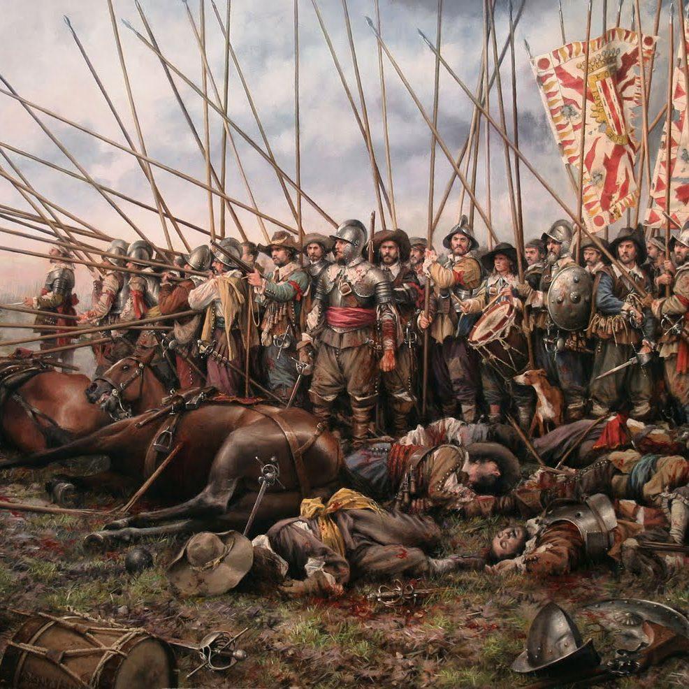 «Rocroi, el último tercio», del pintor Ferrer Dalmau