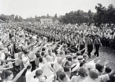 desfile tras convención en Long Island 1938 (Foto: Archivo Getty)