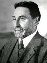 George Benedite. Profesor del Louvre que estudió la tumba.