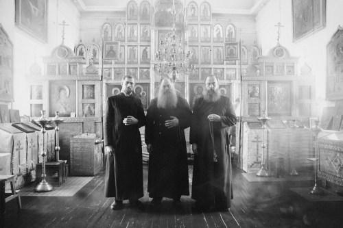Monjes ortodoxos rusos (siglo XIX)