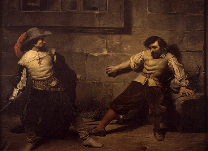 Un lance de espada, de Francisco Domingo Marques