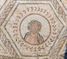 Detalle del mosaico del Planetario.