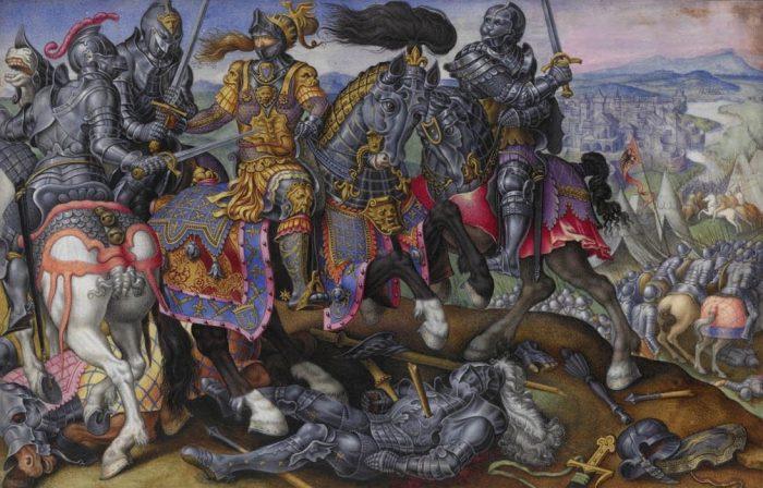 Captura de Francisco I en Pavía
