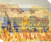 El incendio que destruyó el Alcázar de Madrid en la noche de Navidad