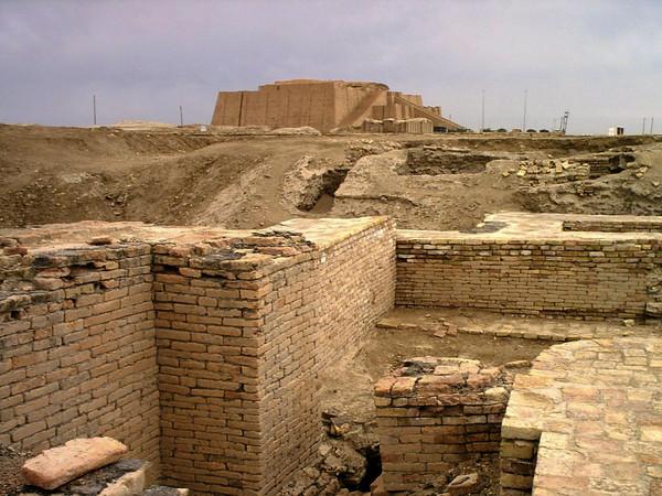 Ur sumeria ruinas irak