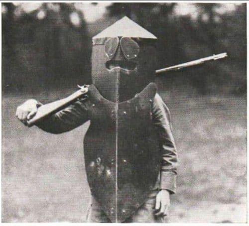 "Armadura personal estadounidense, modelo ""armadura corporal Brewster"" 1917-1918"