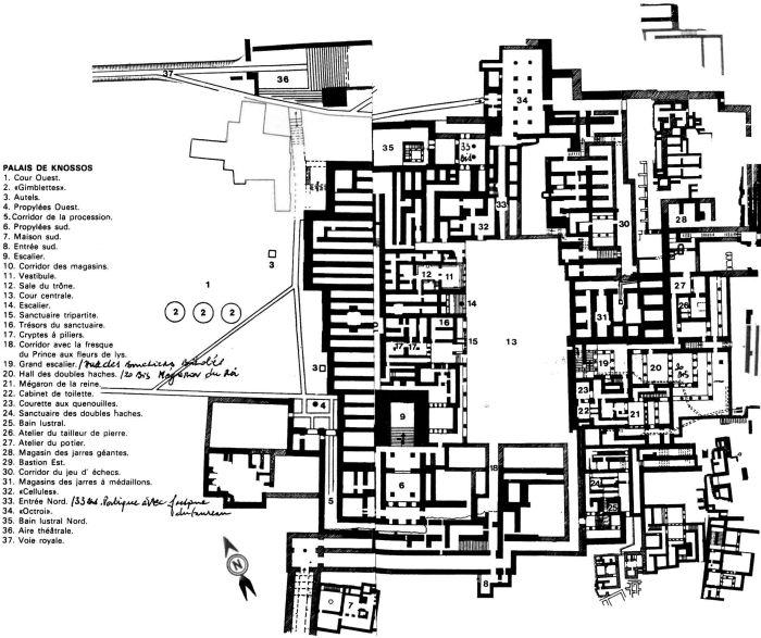 que son los palacios minoicos