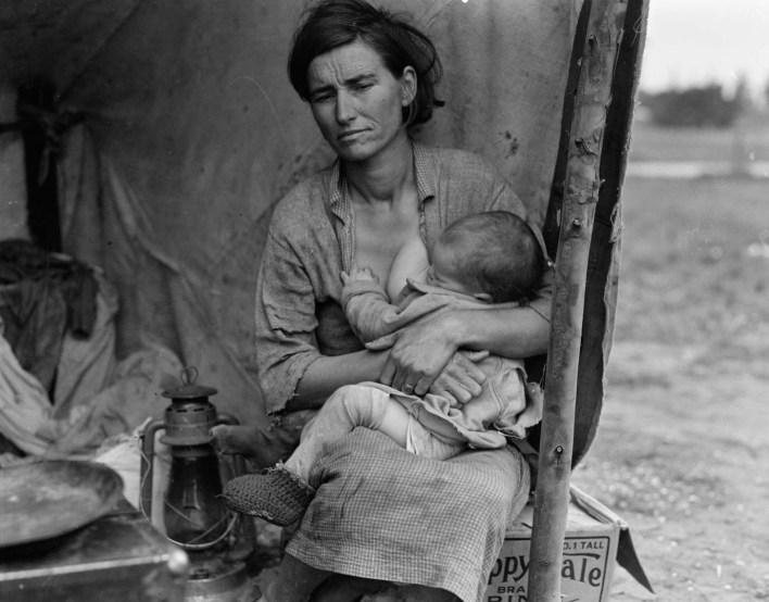 dorotea lange fotografia depresion madre