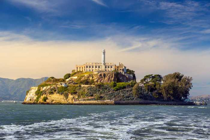 alcatraz prision san francisco roca