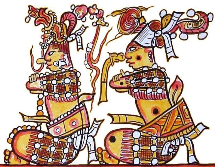 Popol Vuh diluvio maya