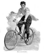 Annie Londonderry mundo bicicleta