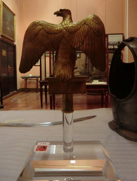 águila naval Marina Imperial francesa Museo Naval