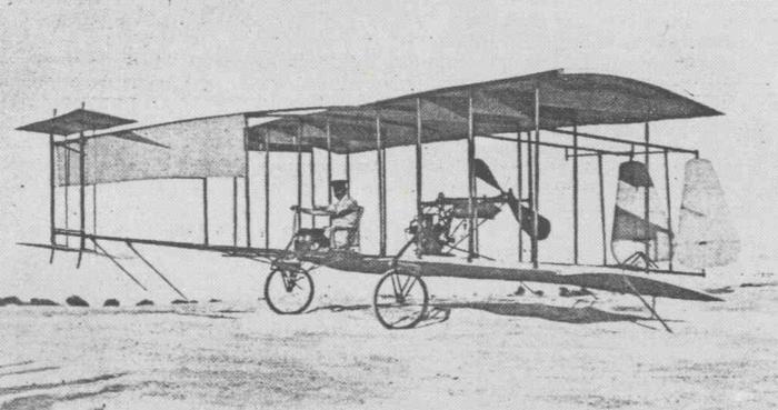 Juan Olivert aeroplano brunet