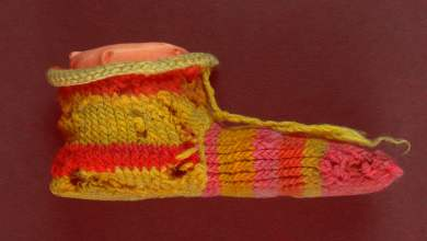 Photo of Los egipcios ya hacían calcetines a rayas hace más de 1700 años