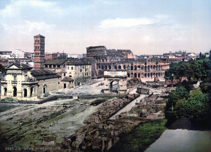 Foro Romano desde el Palatino