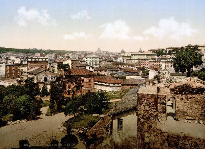 vista desde el Palacio de los Césares.