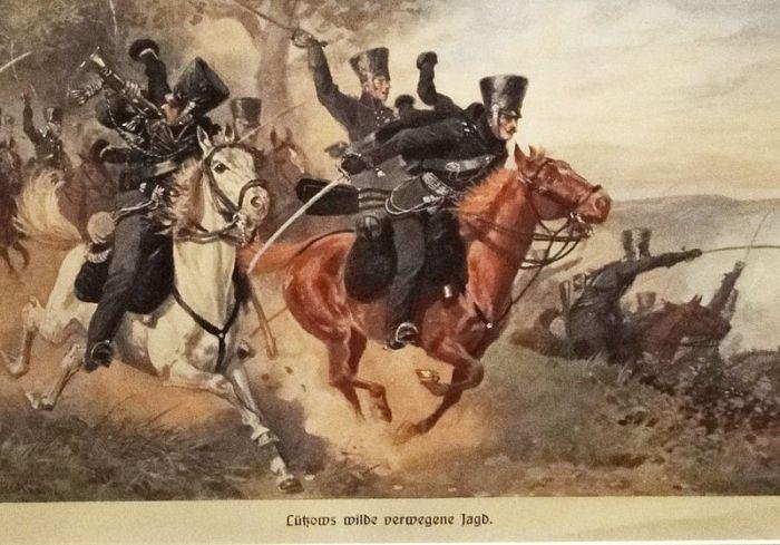 voluntarios de Lützow unificación liberales