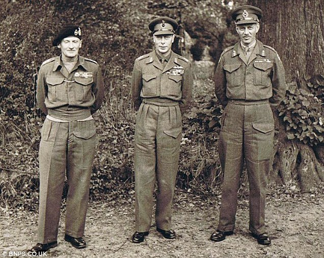 villers bocage 1944 wittmann britanico tiger Jorge VI