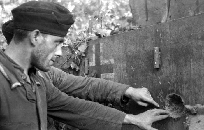 1944 wittmann britanico tiger Wehrmacht