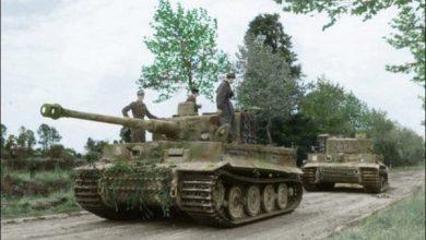 combate 1944 wittmann britanico tiger