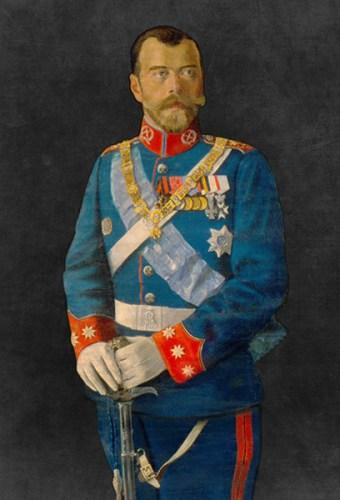 Alfonso XIII zar Nicolás Farnesio