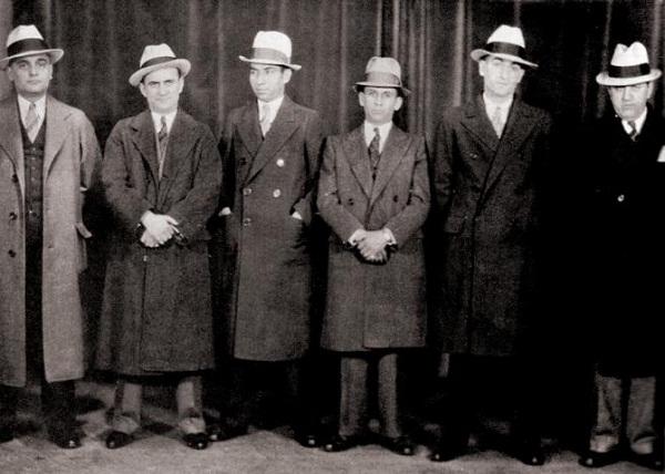 ley seca Lucky Luciano estados unidos