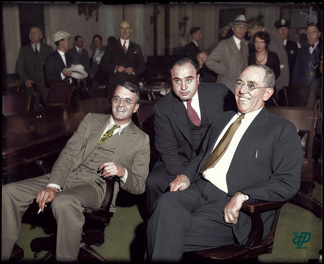 al capone gangster juicio chicago