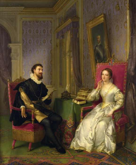 Torquato Tasso y Leonor de Este