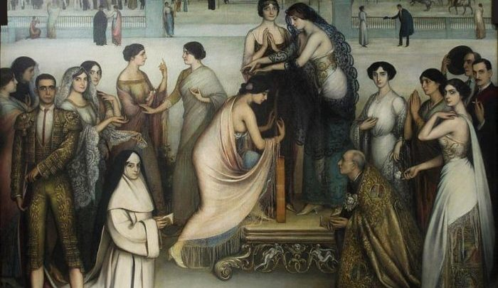Romero de Torres mujeres Andalucía