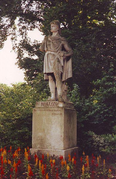 rollo vikingos vikings estatua