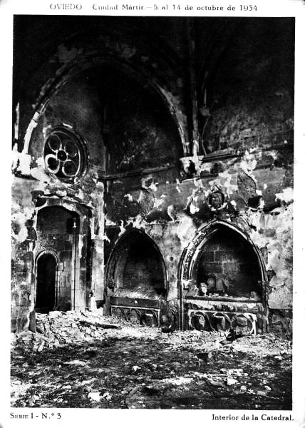 revolucion asturias 1934 octubre catedral