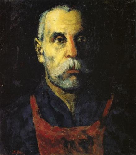 Malévich creador suprematismo realismo retrato figuración