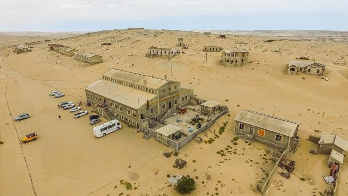 kolmanskop alemania namibia arena