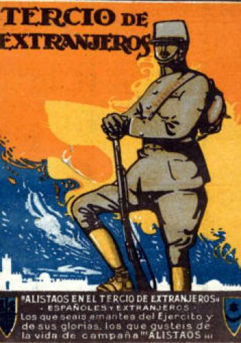 enganche legion española
