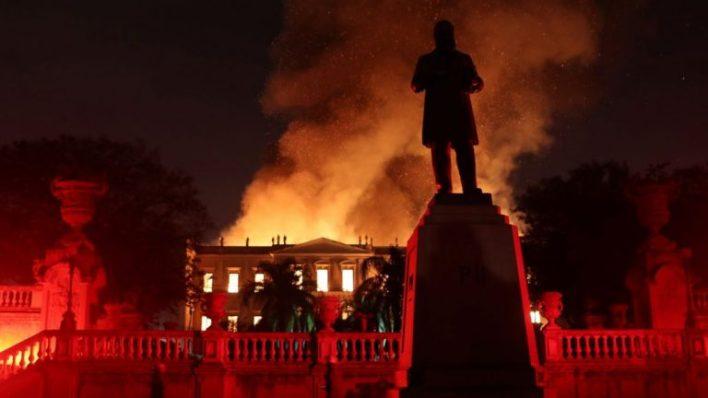 incendio museo