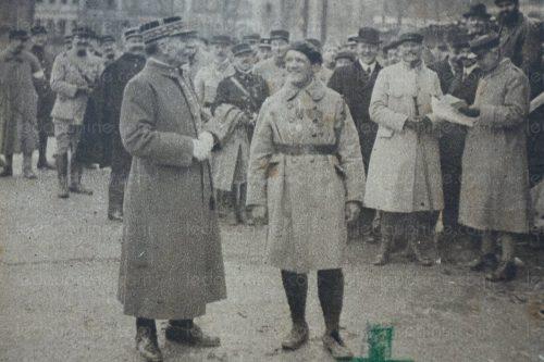 Albert Roche y el Generalísimo Foch